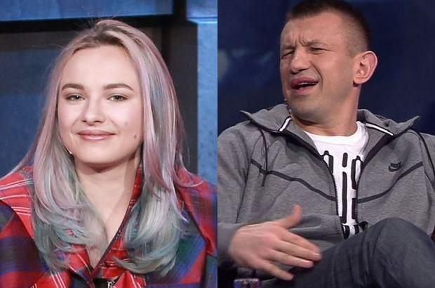 Natalia Nykiel powinna zostać zbita, wtedy nauczy się sprzątać i gotować - zażartował Tomasz Adamek. Kubie Wojewódzkiemu żart się spodobał.