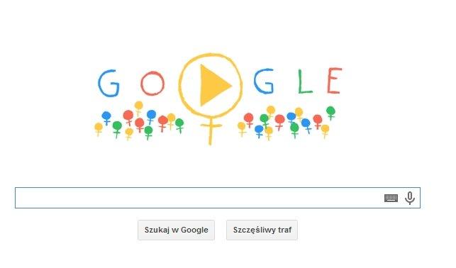 Międzynarodowy Dzień Kobiet - doodle