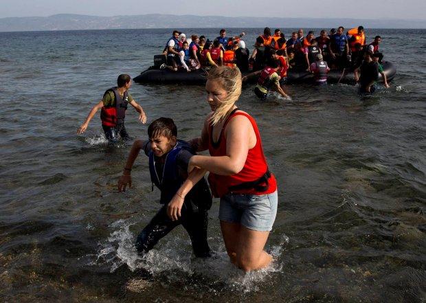 Znalezione obrazy dla zapytania uchodźcy w europie