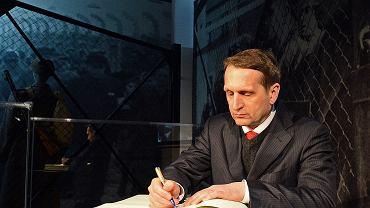 Szef wywiadu Rosji i jeden z zaufanych Putina Siergiej Naryszkin