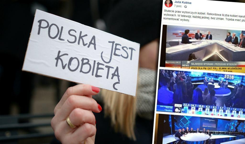 Media bez kobiet