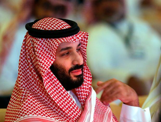 Książę koronny Arabii Saudyjskiej Mohammad bin Salman