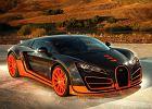 Nowy Bugatti Veyron b�dzie hybryd�?