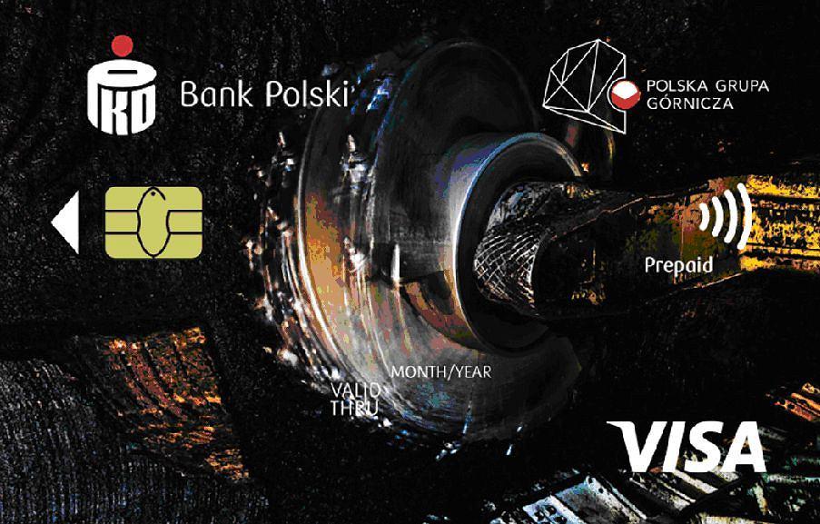Karta płatnicza, którą od maja PGG zacznie wydawać górnikom