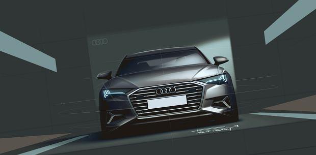 Projekt Audi A6 autorstwa Parysa Cybulskiego