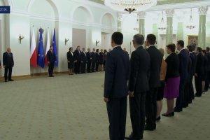 Prezydent przyj�� dymisj� Rady Ministr�w z�o�on� przez Ew� Kopacz
