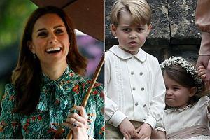 Kate z dziećmi