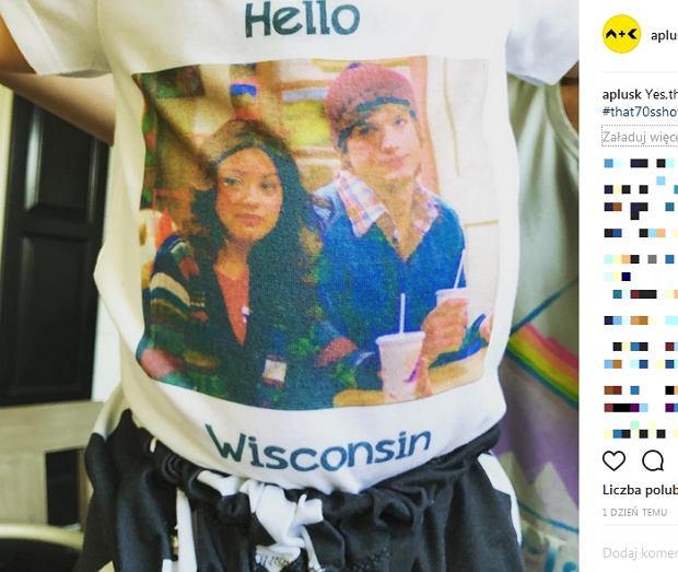 Zdjęcie numer 3 w galerii - Ashton Kutcher pierwszy raz pokazał zdjęcie syna. Koszulka chłopca to hit.