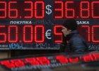 Bank centralny Rosji sprzedaje 10 mld dolarów, by bronić rubla