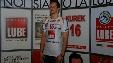 Bartek Kurek w barwach Lube Banca Macerata