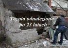 Gara�owe odkrycie | Zamurowana Toyota