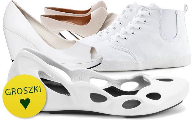 Jak wyczy�ci� bia�e i jasne, letnie buty?