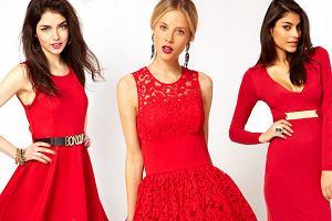 Sexy: czerwone sukienki od 49zł