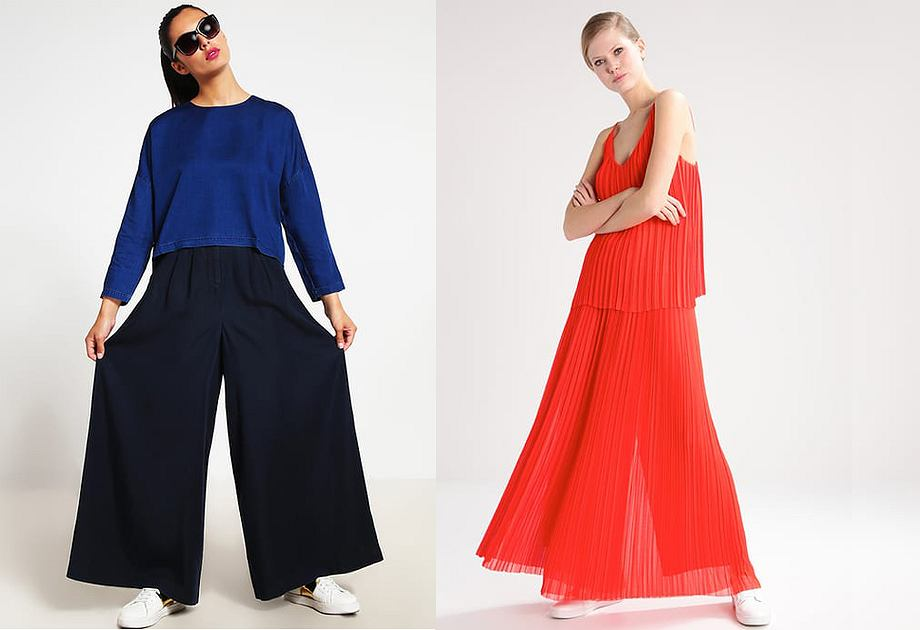 Spodnie jak spódnica