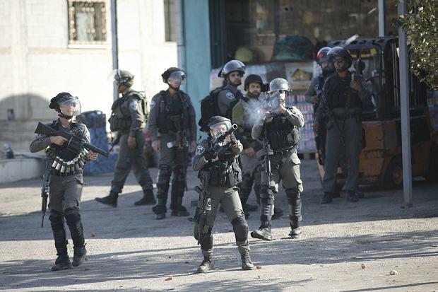 Starcia izraelskich żołnierzy z Palestyńczykami