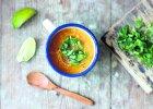 Zupa z dyni z mlekiem kokosowym i imbirem