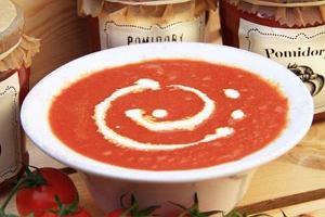 Krem z pomidorów - najzdrowsza zupa pod słońcem
