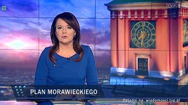 """""""Wiadomości"""" 16 lutego poprowadziła Danuta Holecka"""