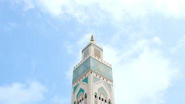 Meczet Hasana II w Casablance w Maroku