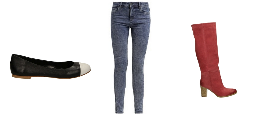 3d2d0636caf4 Buty i jeansy - perfekcyjnie dopasowane połączenia