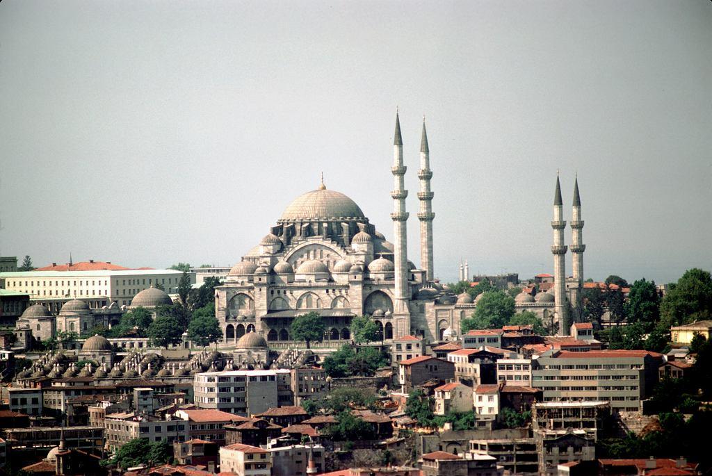 Meczet Sulejmana w Istanbule (fot. Jean-Pierre Bazard / Wikimedia.org / CC BY-SA 3.0)