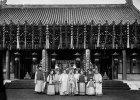 Członkowie dynastii Qing w 1902 r.
