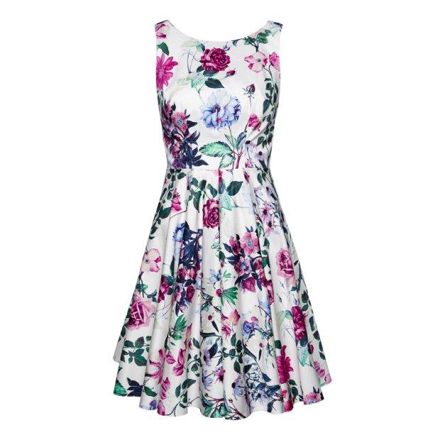 3551bd1408ee Zdjęcie numer 13 w galerii - Sukienki w kwiaty z wiosenno - letnich kolekcji