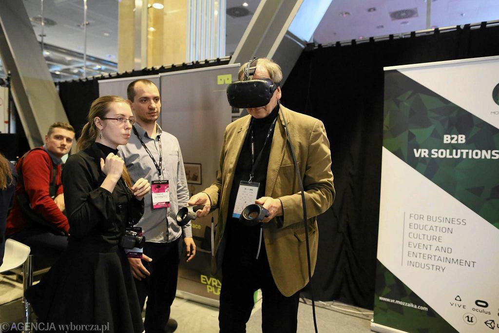 European VR Congress w 2016 r w Warszawie. / AGATA GRZYBOWSKA