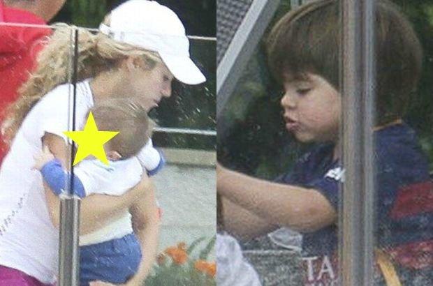 Urocze rodzinne spotkanie Shakira połączyła z treningiem. Podczas, gdy gwiazd grała w tenisa, dziećmi opiekowali się jej rodzice i niania.