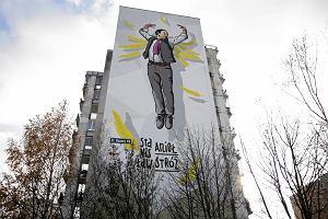 """Odsłonięto mural ze Stanisławem Aniołem. """"To postać jak Frank Underwood"""""""