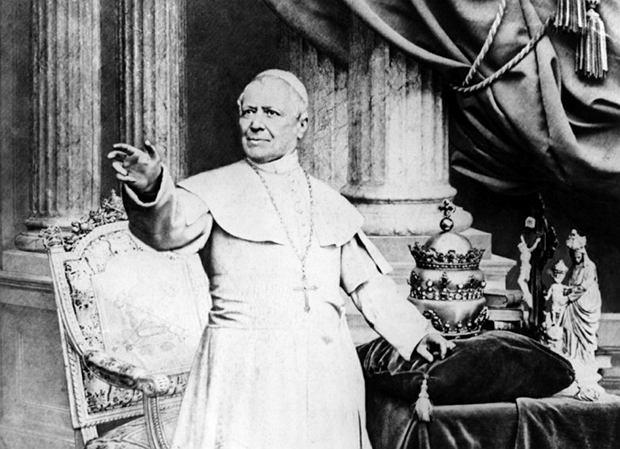 Pius IX, biskup Rzymu. Nieomylny w sprawach wiary i moralności
