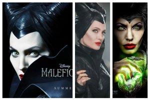 """Angelina Jolie jako """"Maleficent"""" (""""Czarownica"""") - niesamowita metamorfoza [ZDJ�CIA]"""
