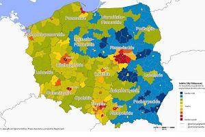 Siła nabywcza GfK dla Polski 2016