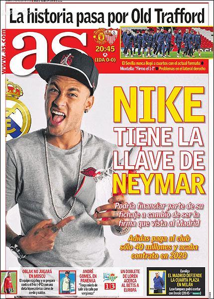 Nike ma klucz do Neymara