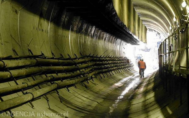 Budowa drugiej linii metra