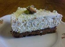 Ciasto z pistacjami i białą czekoladą - ugotuj