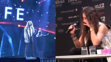 Eurowizja 2016. Na konferencji prasowej �zy. A jak Micha� Szpak wypad� na pr�bie?