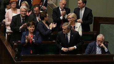 Wicepremier Jarosław Gowin po tym, jak Sejm uchwalił ustawę o Sądzie Najwyższym.