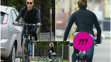 Małgorzata Rozenek na przejażdżkę rowerową założyła obcisłe leginsy, które perfekcyjnie podkreśliły jej figurę. Wprost trudno wyobrazić sobie, żeby pupa telewizyjnej gwiazdy mogła wyglądać lepiej!