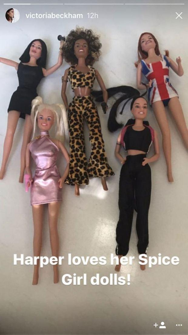 Zdjęcie numer 3 w galerii - Harper Beckham dostała wyjątkowy prezent. W ten sposób dowiedziała się, że