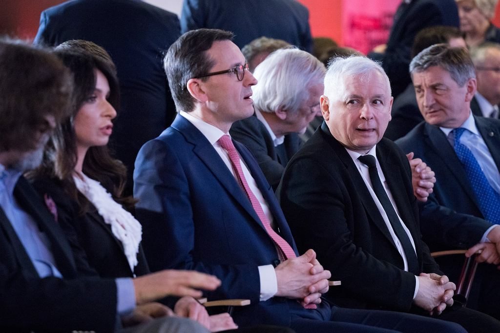 Marta Kaczyńska, Mateusz Morawiecki, Jarosław Kaczyński