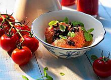 Pikantny pomidorowy sorbet - ugotuj
