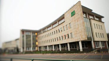 Siedziba ZUS przy ulicy Szamockiej w Warszawie