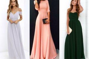 Długa sukienka na wesele? Jeśli tak, to jaka?