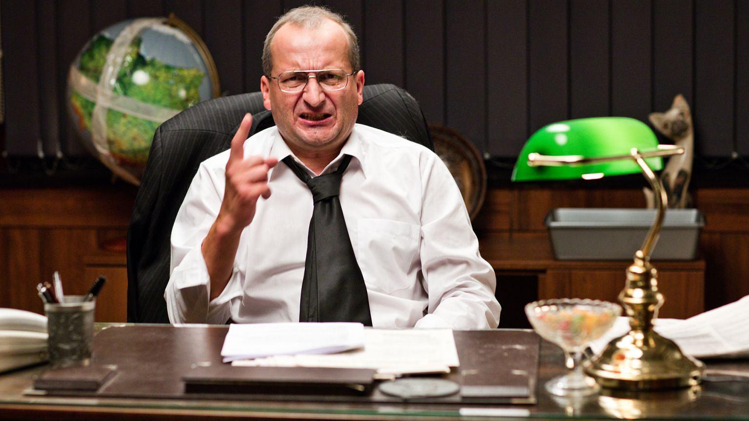 Robert Górski w serialu ''Ucho prezesa''