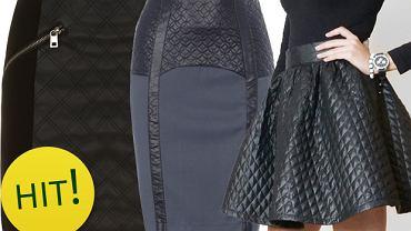 HIT: pikowane spódnice