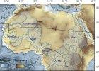 Piaski Sahary skrywaj� �lady dawnych rzek i jezior