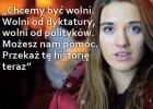 """""""Pom� nam. Przeka� t� histori� teraz"""". Dramatyczny apel m�odej Ukrainki w sieci [WIDEO]"""