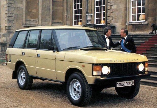 Pierwsza generacja Range Rovera (5d)