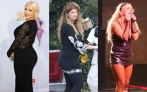 Christina Aguilera, Kirstie Alley, Britney Spears